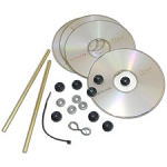 DVD Layer Wheels and Axles (20-pair)